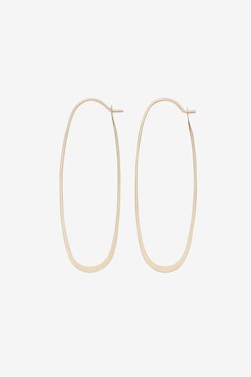 MELISSA JOY MANNING / OVAL HOOPS