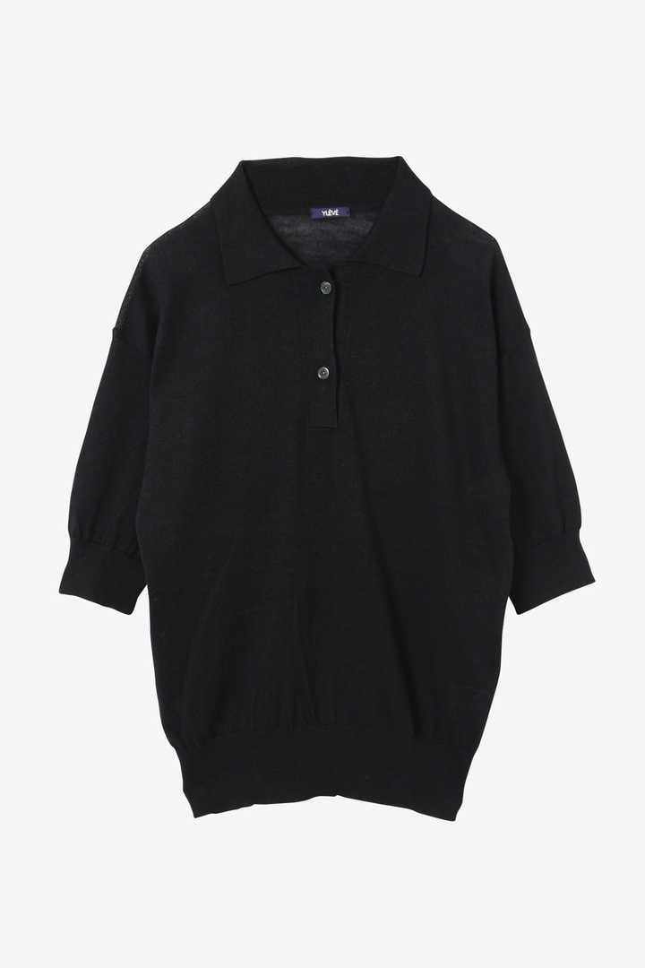 LINEN COTTON SLAB KN POLO11