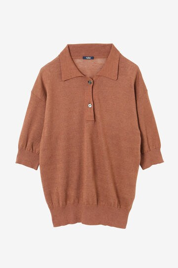 LINEN COTTON SLAB KN POLO_050