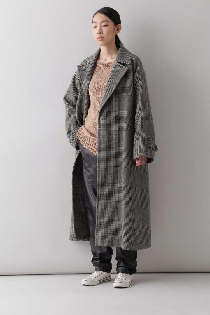 【先行予約 10月中旬入荷予定】WOOL GLENCHECK W CLOTH CO4