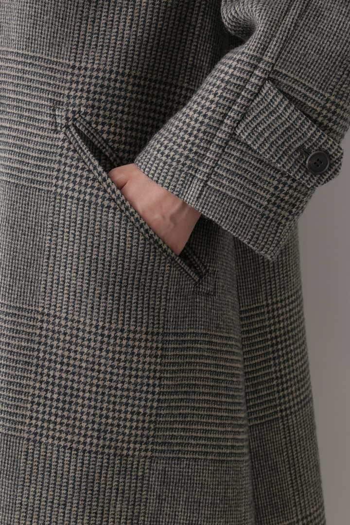 【先行予約 10月中旬入荷予定】WOOL GLENCHECK W CLOTH CO10