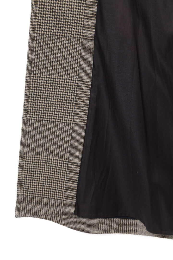 【先行予約 10月中旬入荷予定】WOOL GLENCHECK W CLOTH CO13