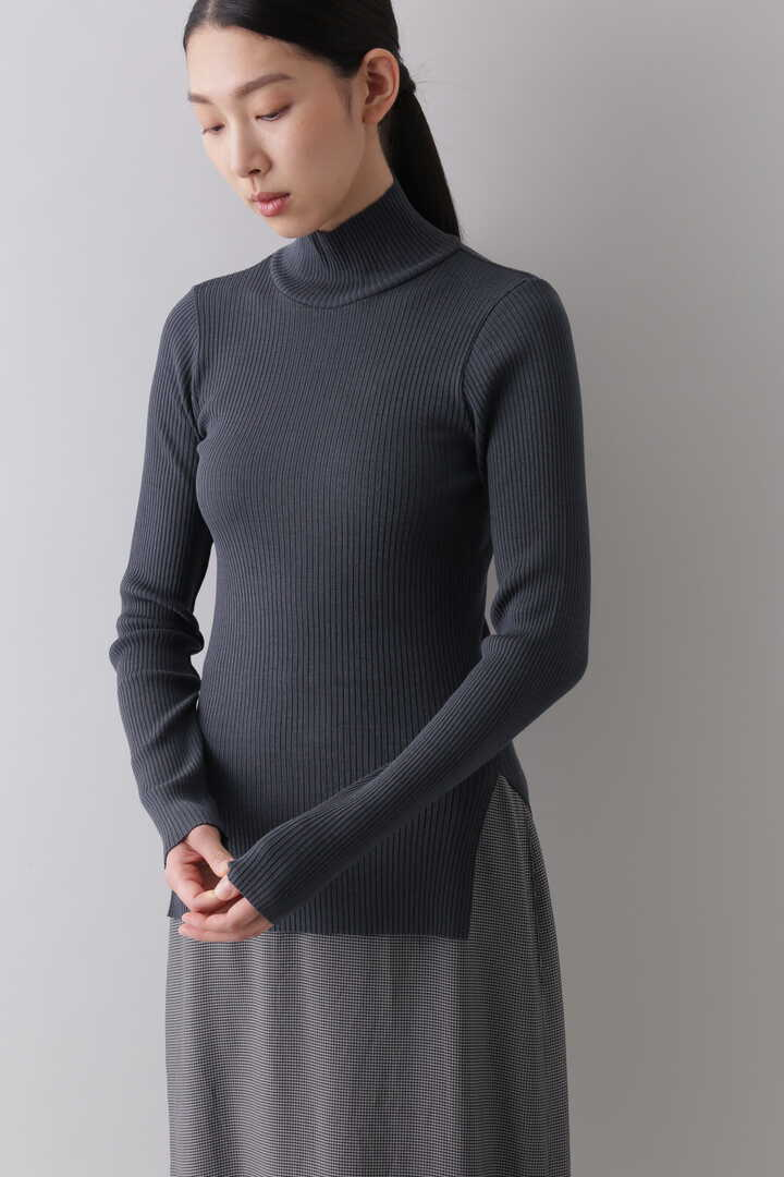 WOOL SHEER RIB TURTLE2