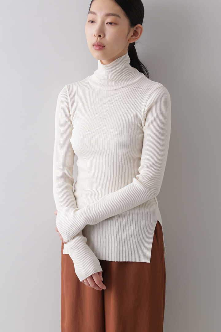WOOL SHEER RIB TURTLE16