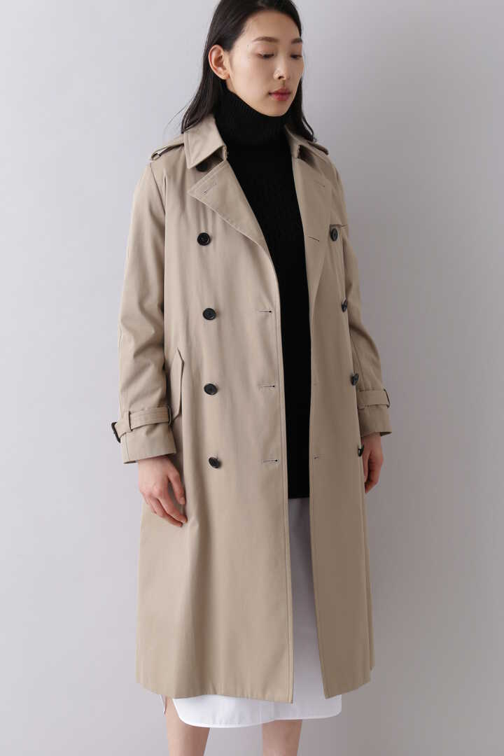 SUPIMA CTN TRENCH COAT1