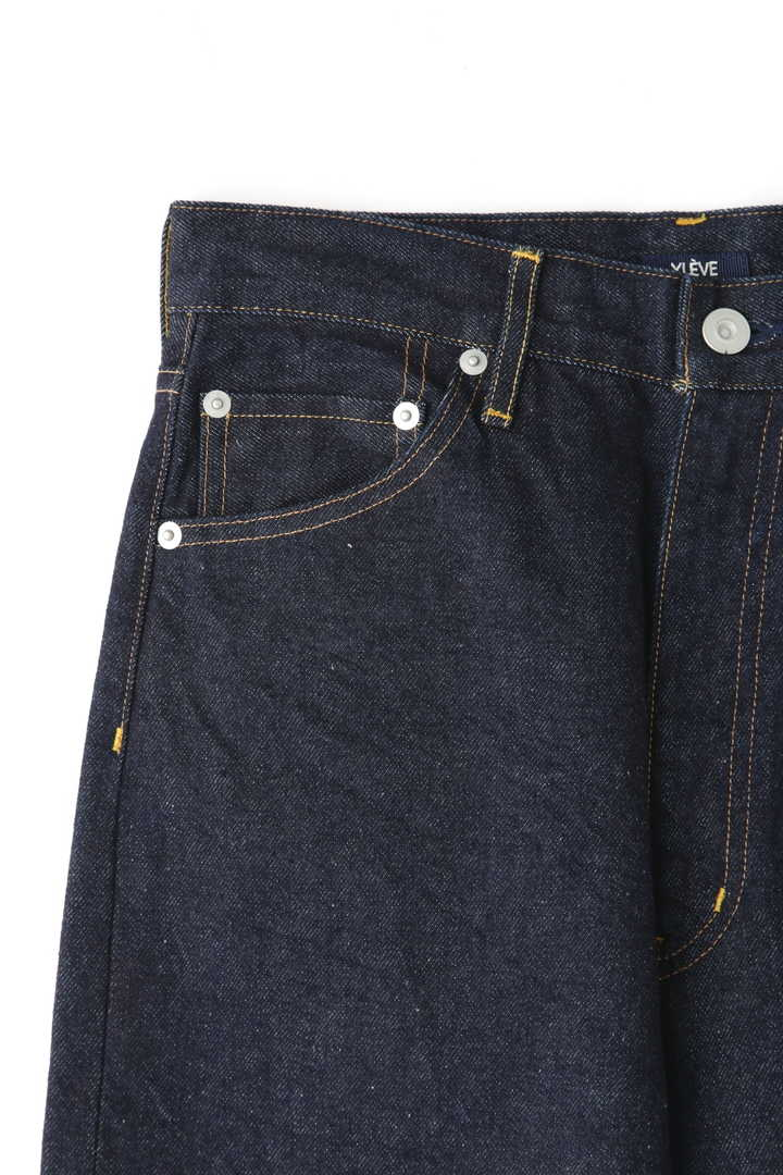 13.5oz DENIM HIGH WAIST TAPERE3