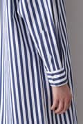 HIGH COUNT COTTON STRIPE SH/OP