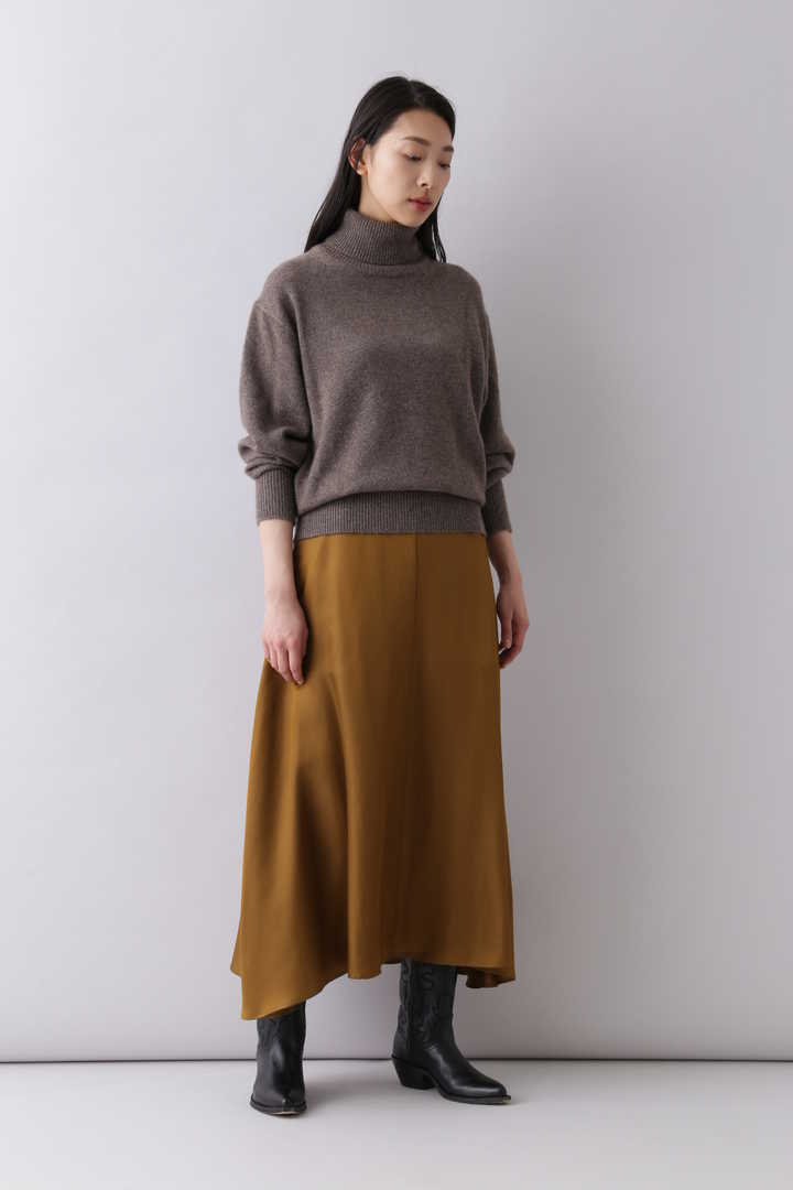 CASHMERE KNIT TURTLENECK P/O4