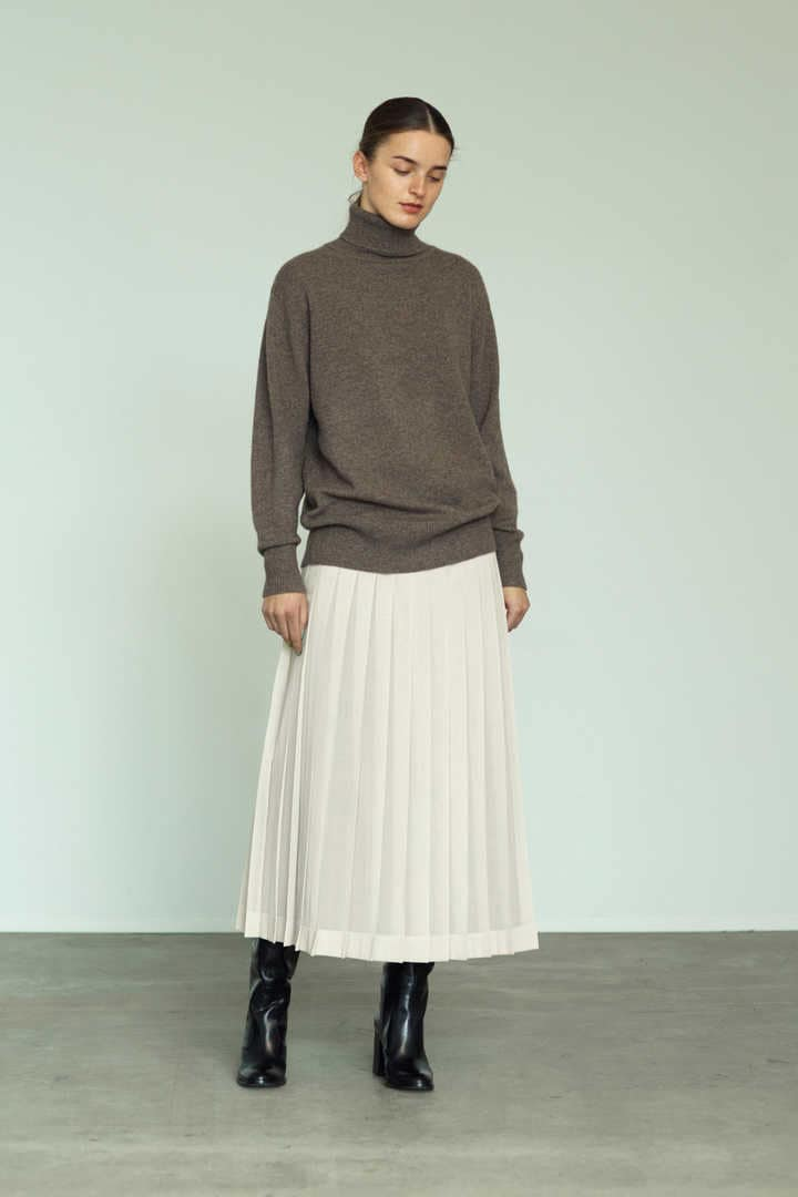 CASHMERE KNIT TURTLENECK P/O5