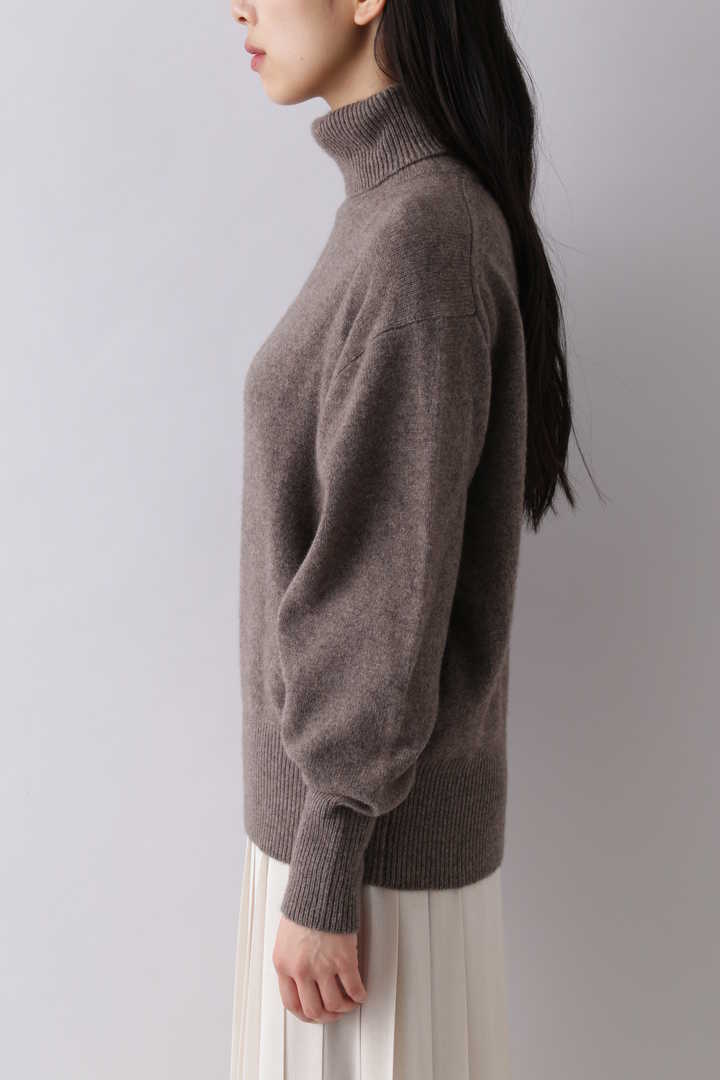 CASHMERE KNIT TURTLENECK P/O7