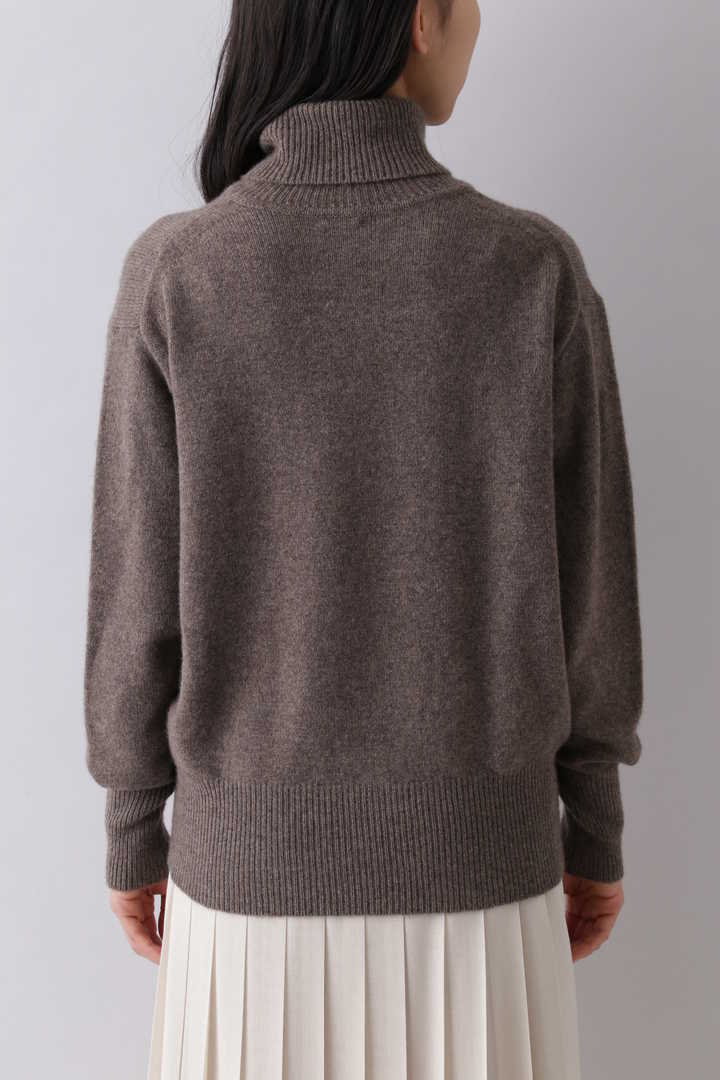 CASHMERE KNIT TURTLENECK P/O8