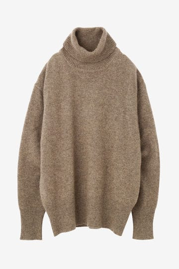 CASHMERE KNIT TURTLENECK P/O_040