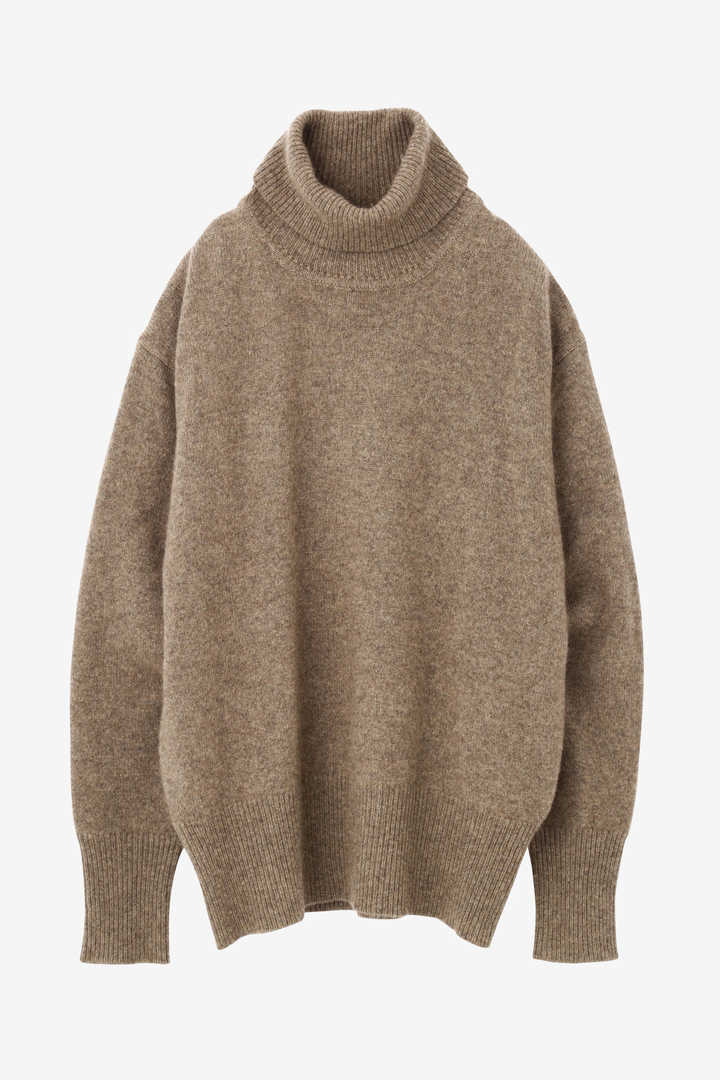 CASHMERE KNIT TURTLENECK P/O1
