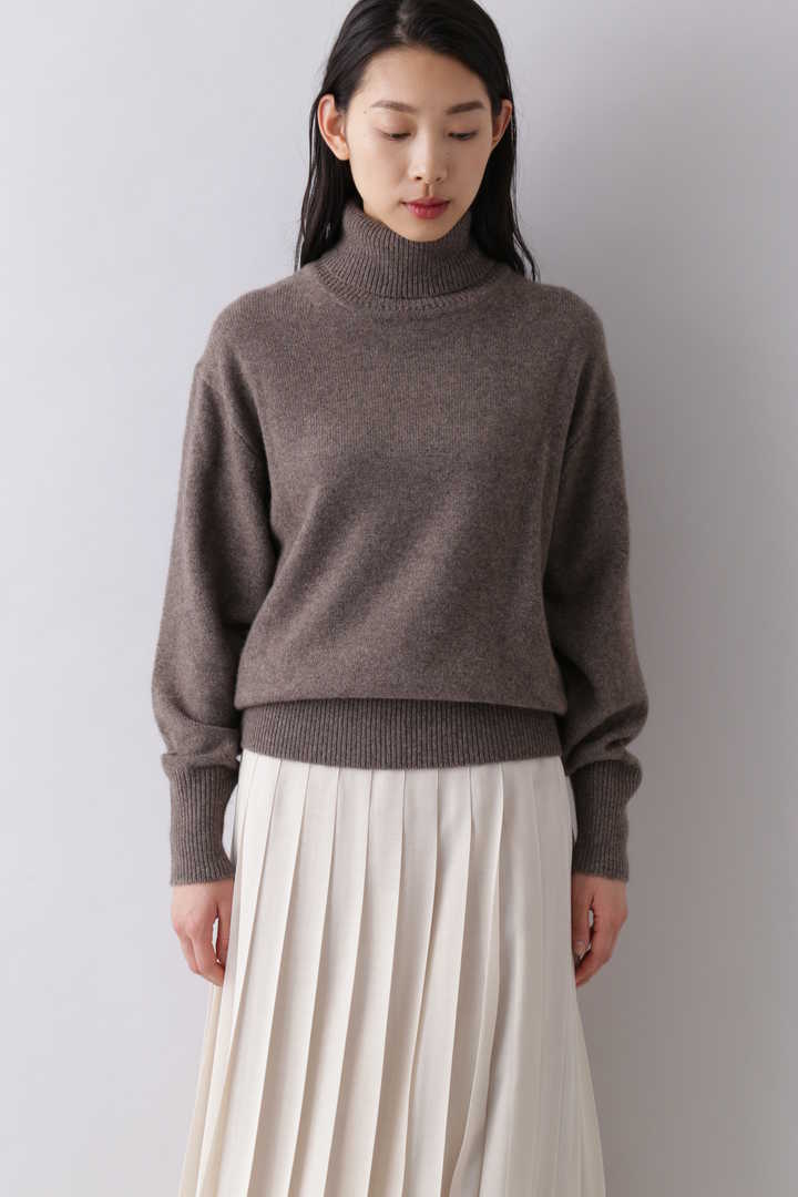 CASHMERE KNIT TURTLENECK P/O2
