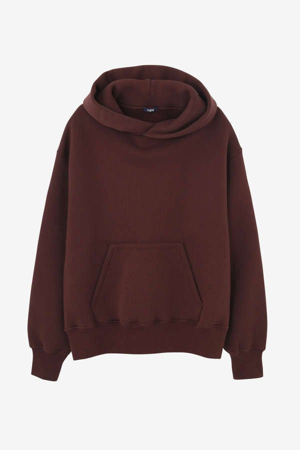 FINE COTTON FLEECE HOODIE