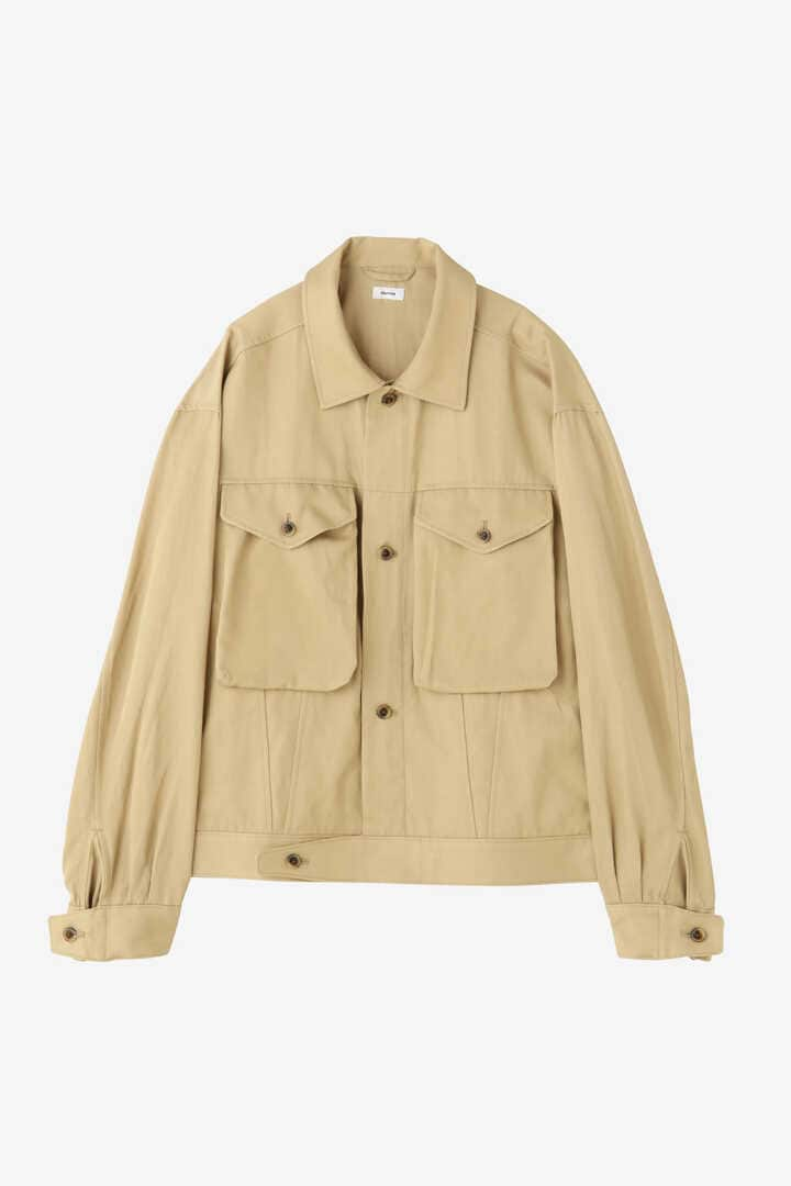 BLURHMS / RAYON COTTON SHORT JACKET1