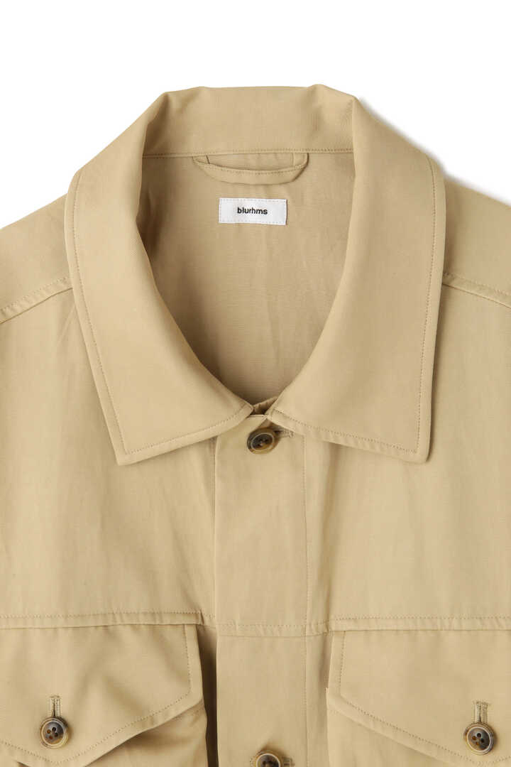 BLURHMS / RAYON COTTON SHORT JACKET3