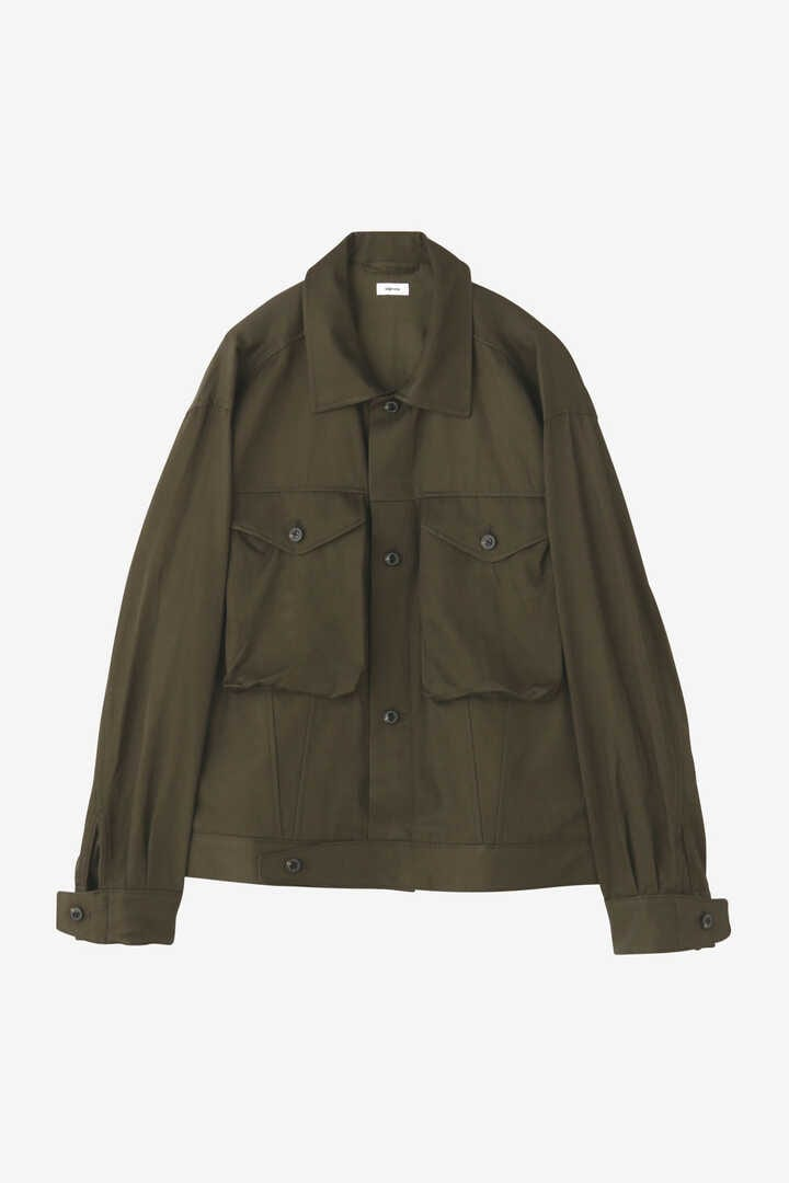 BLURHMS / RAYON COTTON SHORT JACKET11