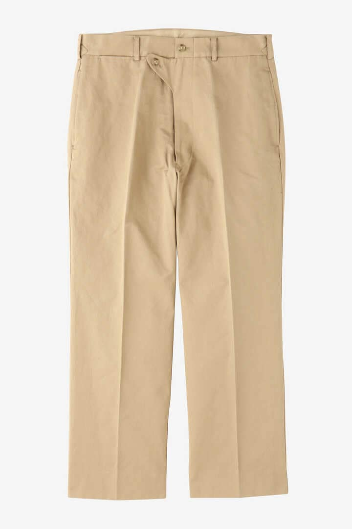 BLURHMS / COTTON LINEN KERSEY SLACKS9