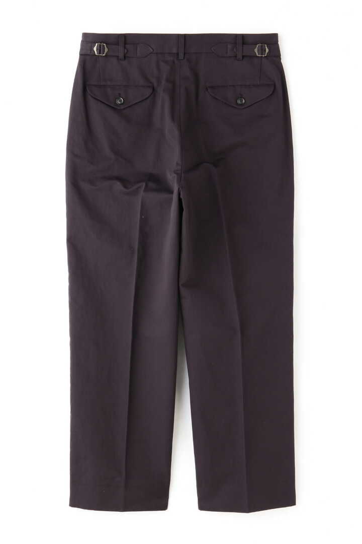 BLURHMS / COTTON LINEN KERSEY SLACKS2
