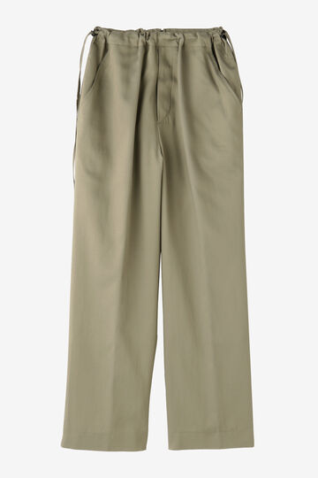 BLURHMS / CUPRA COTTON GABARDINE SIDE STRING SLACKS_040
