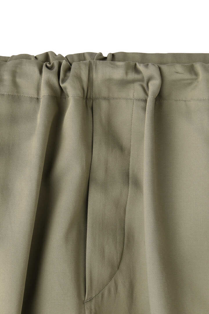 BLURHMS / CUPRA COTTON GABARDINE SIDE STRING SLACKS3