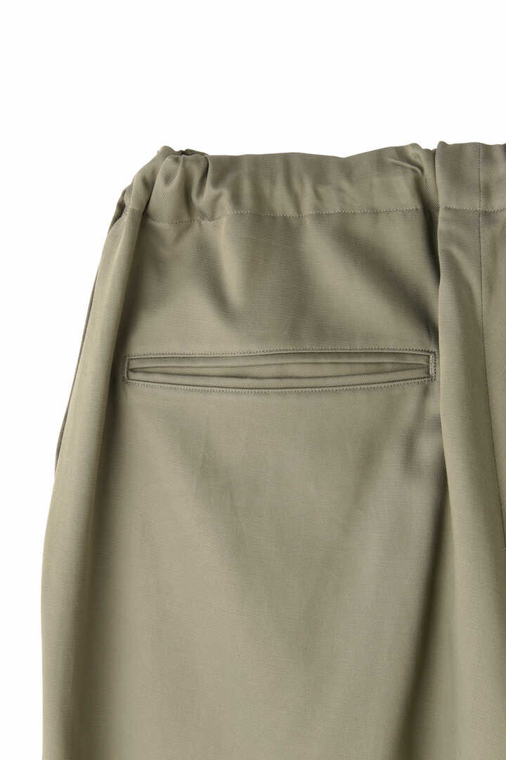BLURHMS / CUPRA COTTON GABARDINE SIDE STRING SLACKS6
