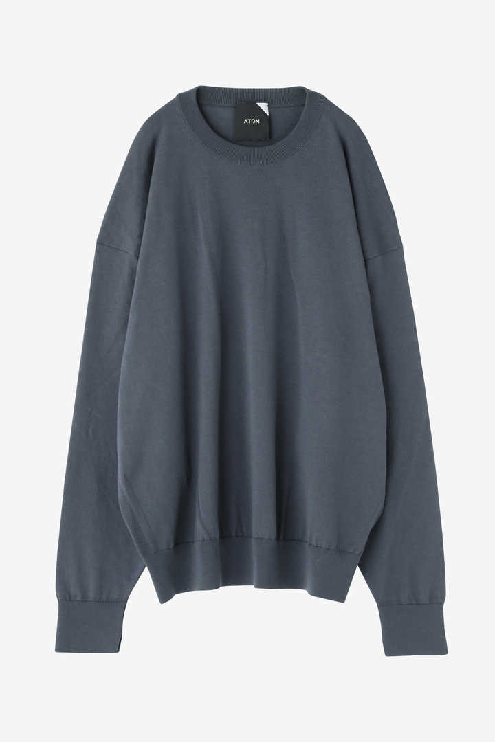 ATON / SUVIN COTTON OVERSIZED SW1