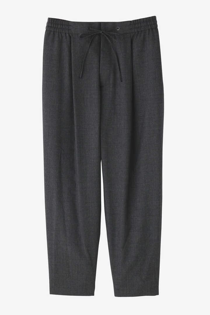 ATON / WOOL TROPICAL EASY TAPERED PANTS1