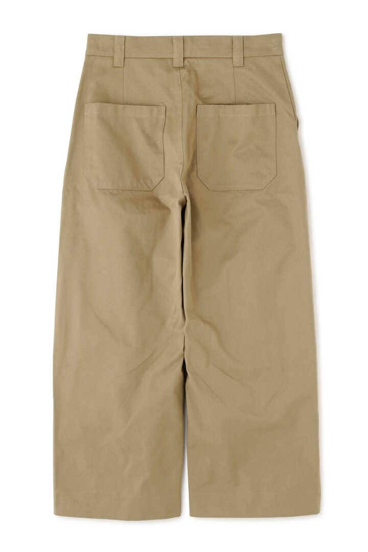 STUDIO NICHOLSON / PEACHED COTTON TWILL CLASSIC VOLUME PANTS2