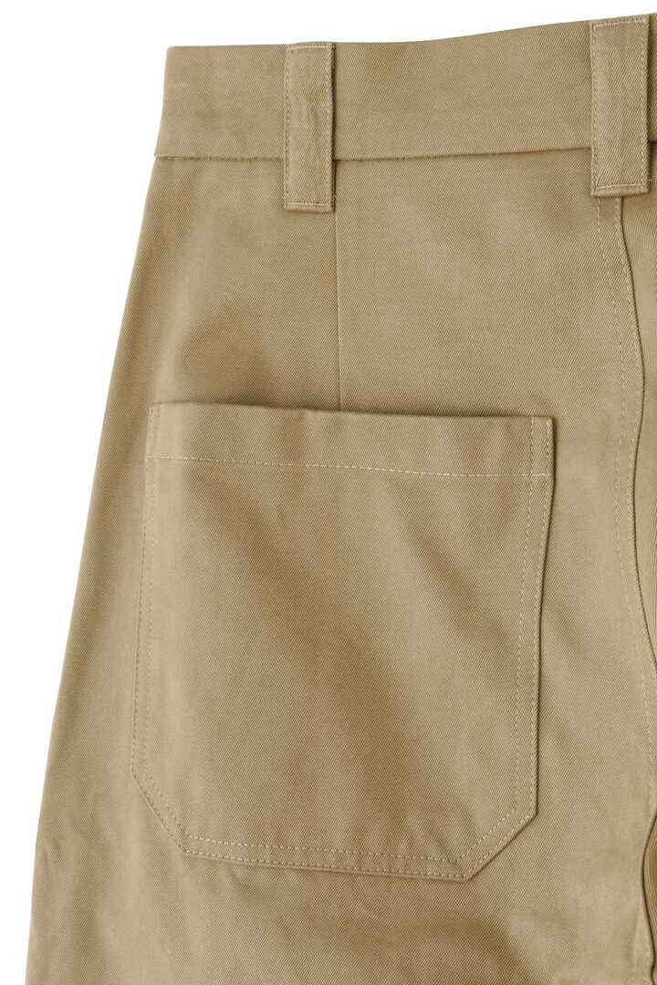 STUDIO NICHOLSON / PEACHED COTTON TWILL CLASSIC VOLUME PANTS5