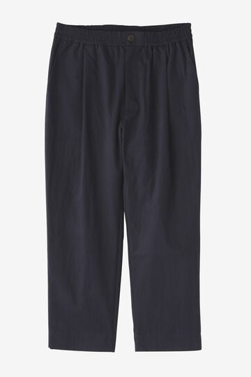 STUDIO NICHOLSON / PREMIUM COTTON TWILL EASY ELASTICATED PANT_120