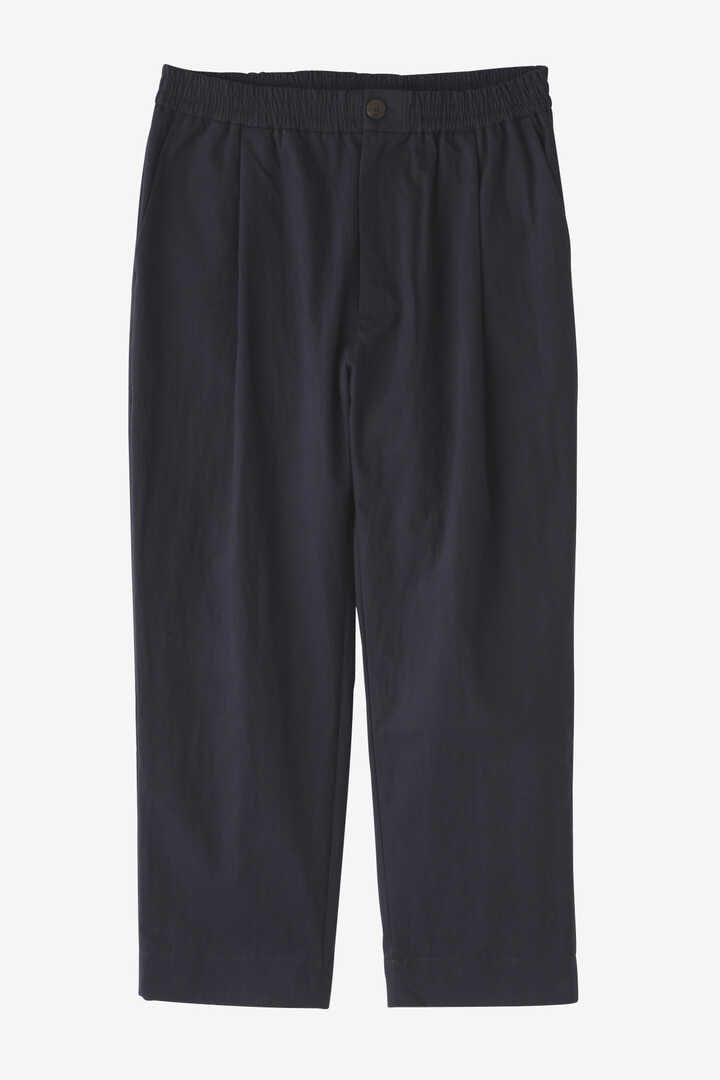 STUDIO NICHOLSON / PREMIUM COTTON TWILL EASY ELASTICATED PANT1