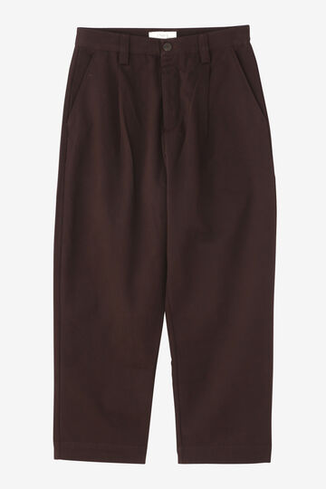 STUDIO NICHOLSON / PEACHED COTTON SENGLE PLEAT TAPERD PANT_050