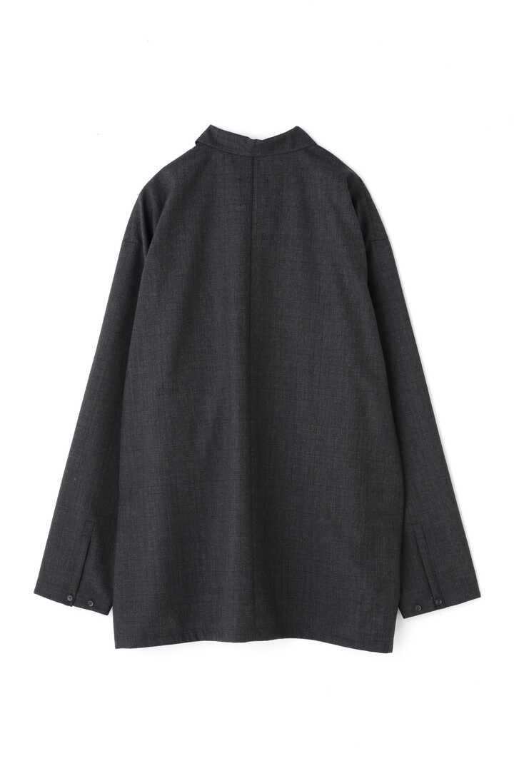 ATON / WOOL TROPICAL OVERSIZED WORK SHIRT2