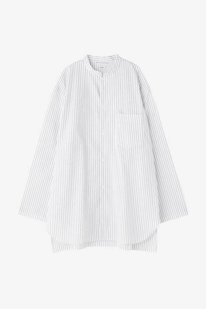[別注]BLURHMS / HIGH COUNT STAND-UP COLLAR SHIRT FOR THE LIBRARY1