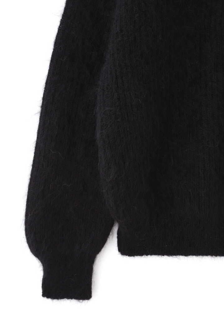 BLURHMS / KID MOHAIR ALPACA WOOL KNIT TURTLE-NECK P/O5