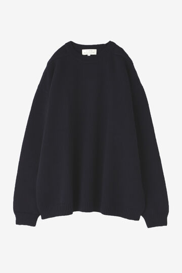 STUDIO NICHOLSON / ENGLISH LAMBSWOOL GUERNSEY JUMPER_120
