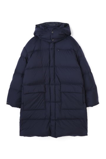 DESCENTE PAUSE / HOODED DOWN COAT