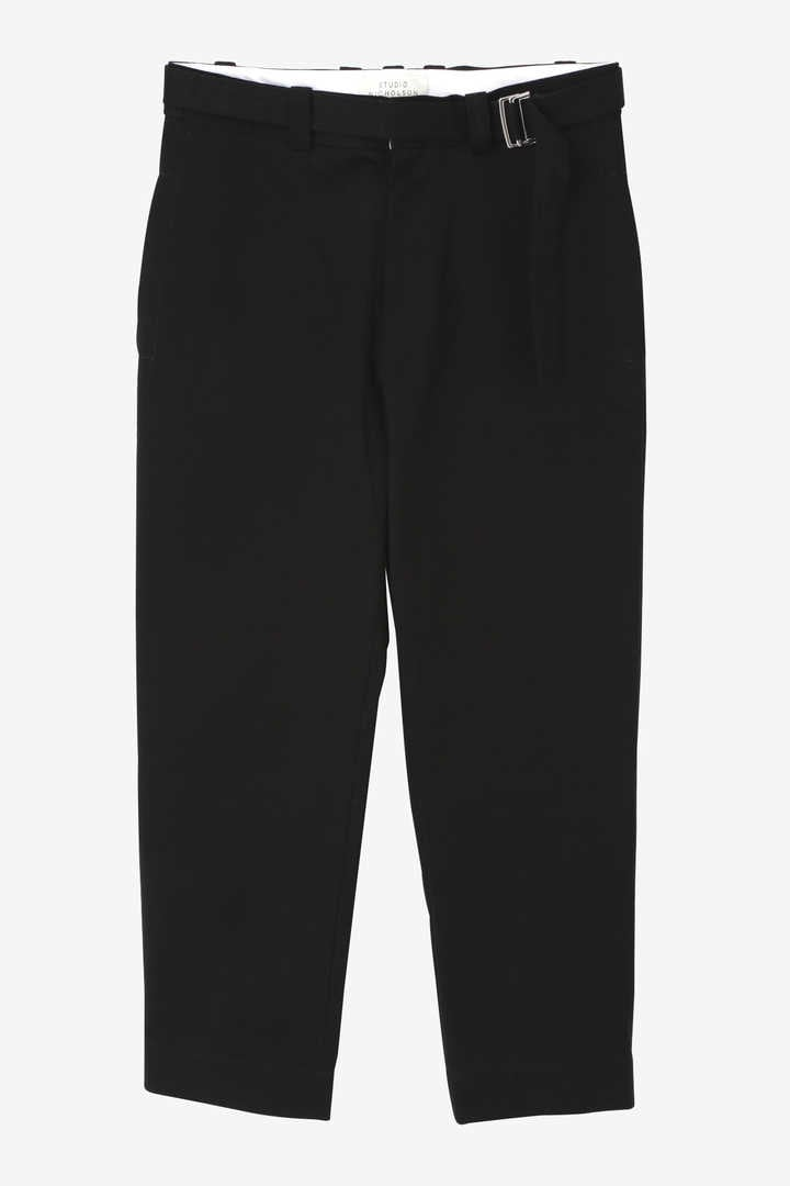 STUDIO NICHOLSON / PEACHED TWILL TROUSERS1