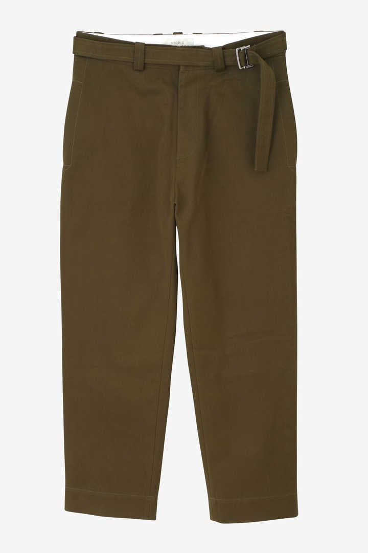 STUDIO NICHOLSON / PEACHED TWILL TROUSERS3