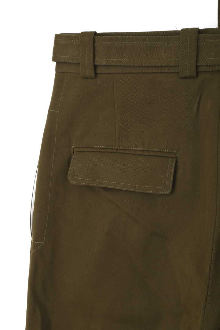 STUDIO NICHOLSON / PEACHED TWILL TROUSERS8