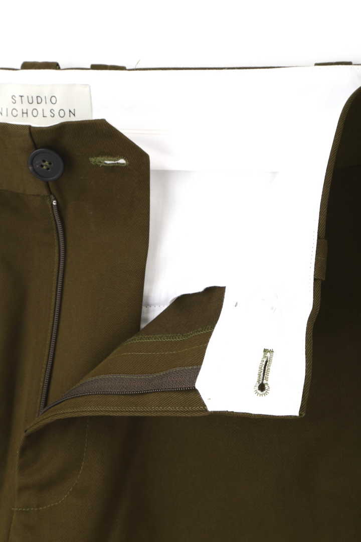 STUDIO NICHOLSON / PEACHED TWILL TROUSERS11