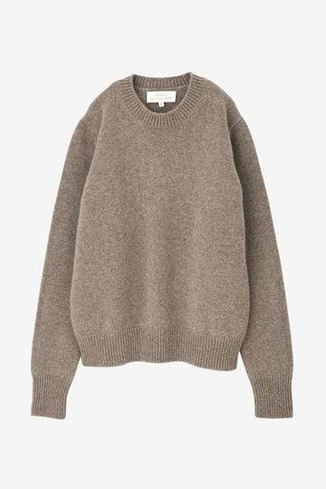 STUDIO NICHOLSON / ENGLISH LAMBS WOOL FIVE GAUGE CREW NECK_020