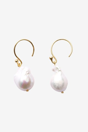 THE LIBRARY / BAROQUE PEARL EARRINGS