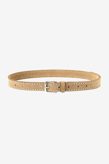 THE LIBRARY / HALCYON BELT STUDS SUEDE