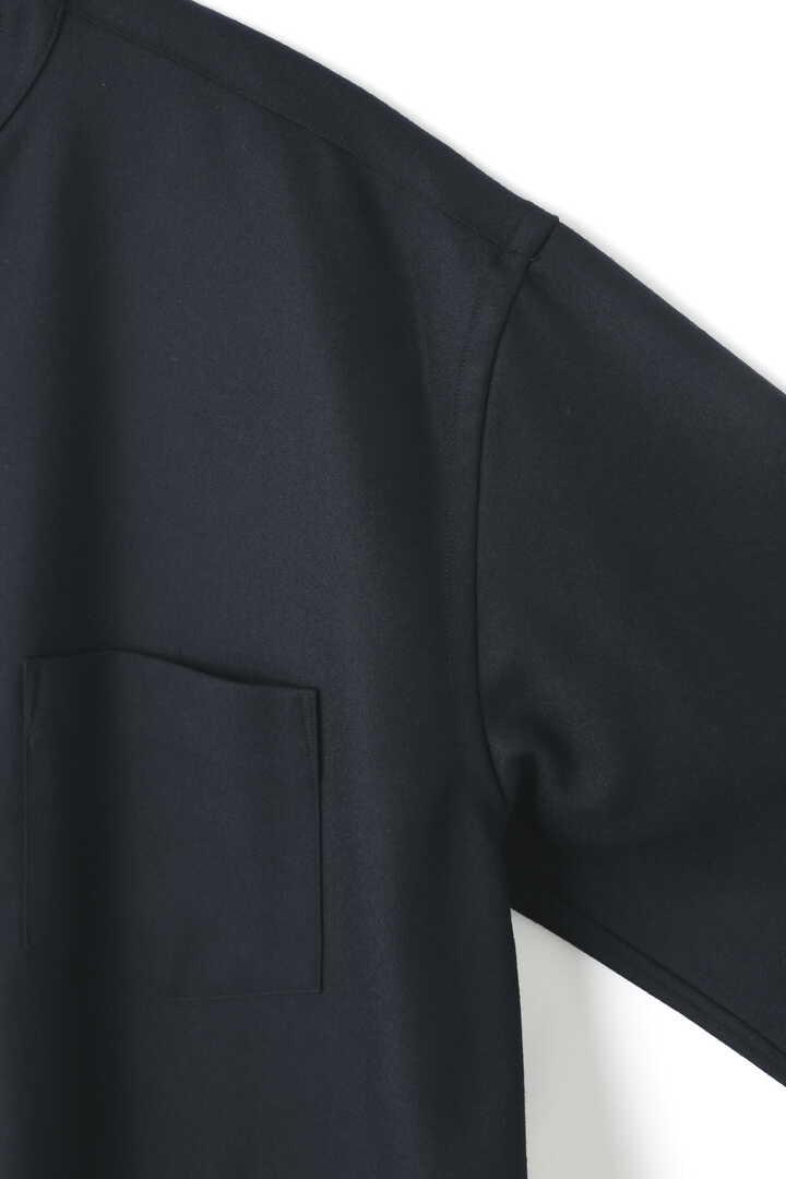 [UNISEX] WOOL FLANNEL LONG SH4
