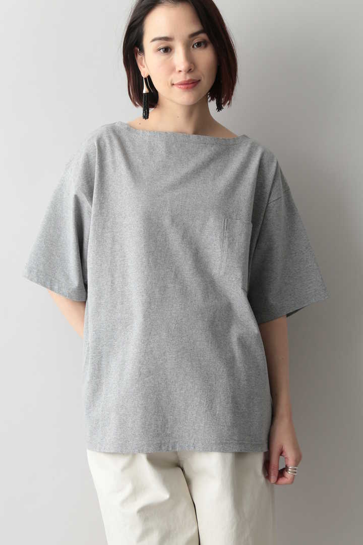 THE LIBRARY / CTN GARMENT DYE WIDE T