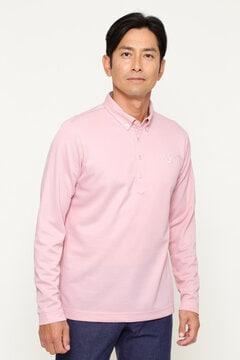 長袖カラーシャツ (MENS)