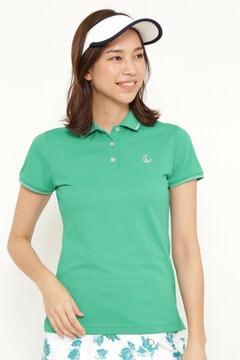 ラメライン ポロシャツ (WONENS)